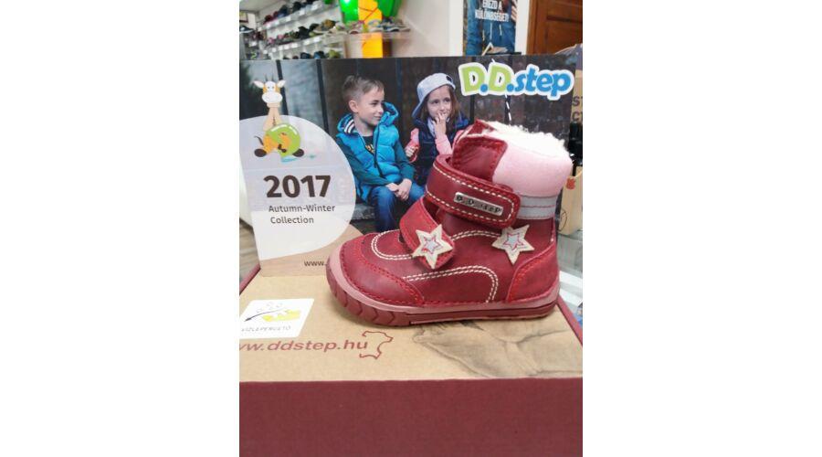 6def616e5c86 D.D.Step piros, bundás bakancs - Cipők - Trendi Kölyök Gyerekcipő webáruház  - Szekszárd