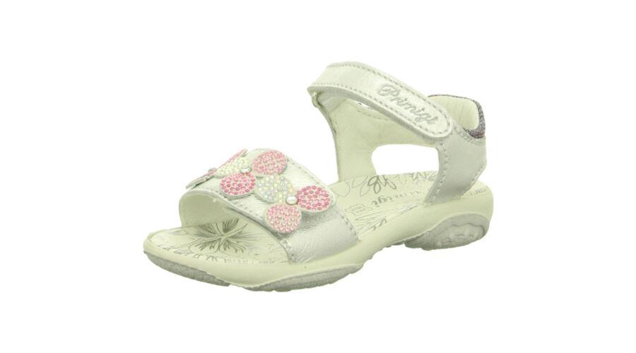 Primigi ezüst-fehér virágmintás szandál - Cipők - Trendi Kölyök Gyerekcipő  webáruház - Szekszárd 8c8d287847
