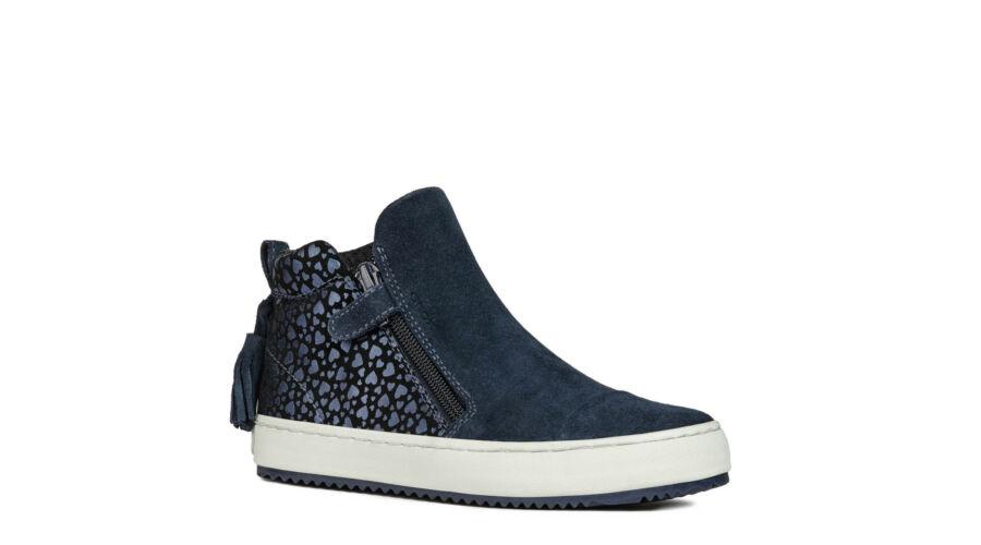 73c254f12c GEOX sötétkék-fekete, szívecskés átmeneti cipő - Cipők - Trendi ...