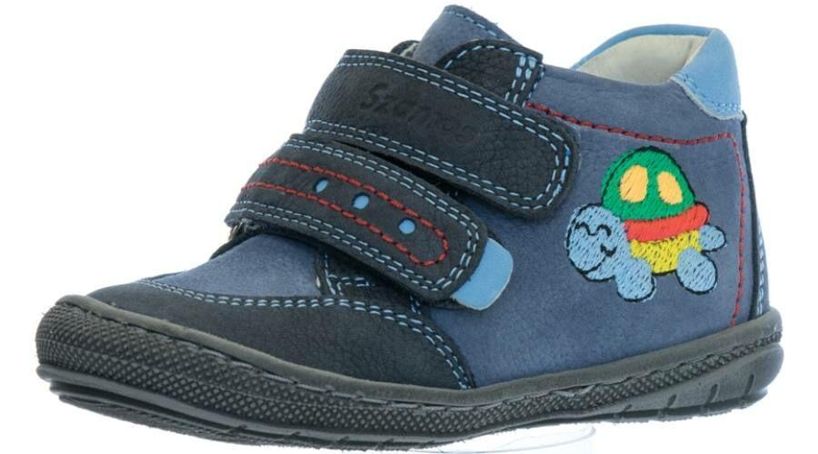 243f0ca0892c Szamos Kölyök világoskék-sötétkék, teknőcös, első lépés cipő - Cipők ...