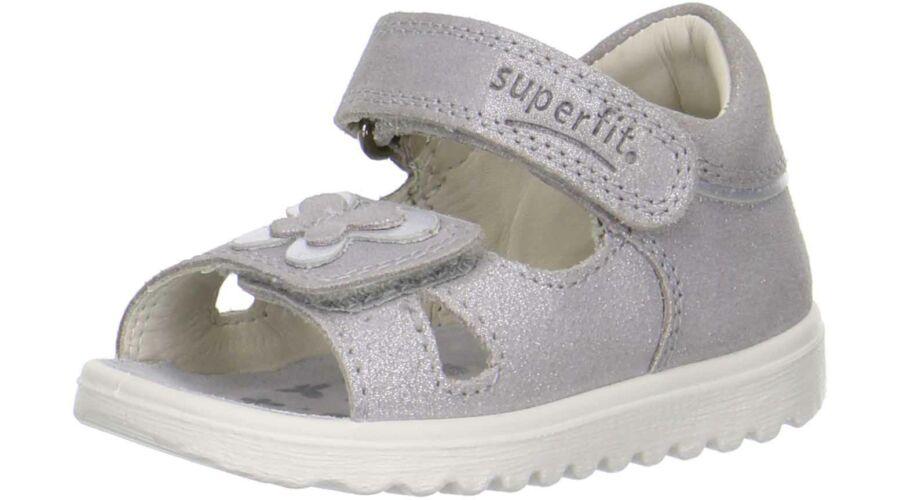 Superfit szürke pillangós szandál Cipők Trendi Kölyök