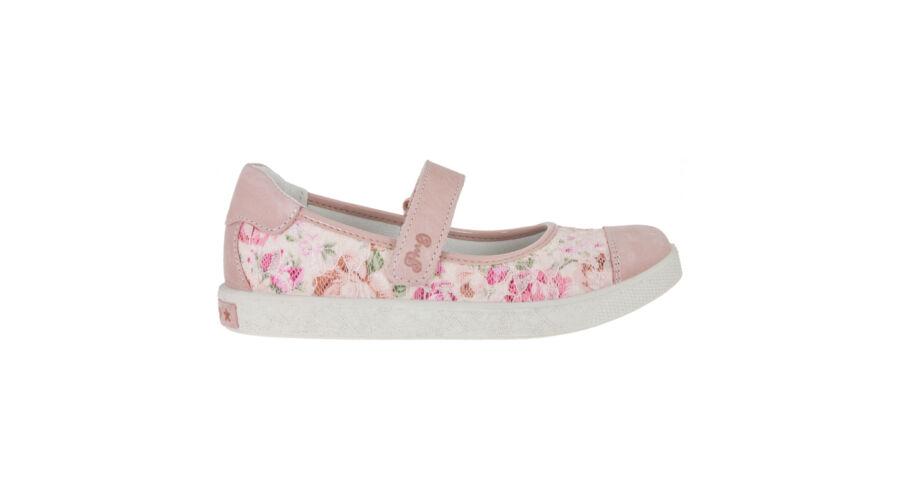 Primigi rózsaszín-virágmintás alkalmi cipő - Cipők - Trendi Kölyök ... 0fe4b52f06
