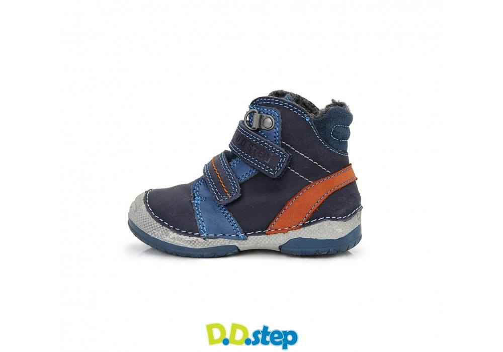 783b0e6eed22 D.D.Step sötétkék-rozsda, bundás bakancs - Cipők - Trendi Kölyök Gyerekcipő  webáruház - Szekszárd