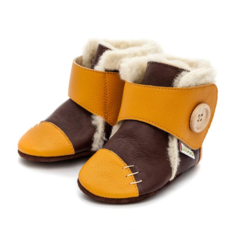 262d80d07d1f Liliputi puhatalpú csizma mustár-barna - Cipők - Trendi Kölyök Gyerekcipő  webáruház - Szekszárd